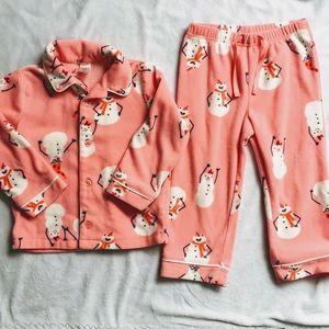 2-piece Fleece Holiday Pajamas